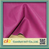 Quality 0.4mm - 0.7mm Polyurethane Synthetic Leather Fabric For Garment for sale