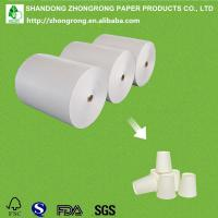 Quality paper cup paper with one side PE coated for sale