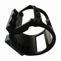 Quality High-accuracy CNC Machined Part, Made of 6061 Aluminum, with Black Hard Coat Anodized Surface Finish for sale