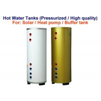 Quality Stable Solar Hot Water Storage Tank , Reliable Horizontal Hot Water Tank for sale