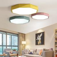 Quality Ultra-thin 5cm LED Ceiling Lamps Iron Round Black/white Colors Ceiling Lights (WH-MA-04) for sale
