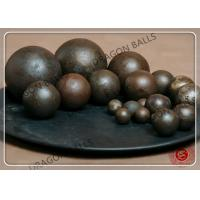 Quality Dia 20mm - 150mm Grinding Balls Mining , Forged / Cast Grinding Balls For Mining for sale