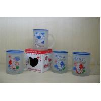 Quality Cartoon Glass Cup (JD16) for sale