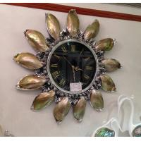 Quality luxury  shell wall clock,large clock for sale