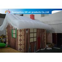 China Inflatable Christmas Decoration House Inflatable Tent House / Snow House on sale