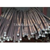 Quality 0Cr21Al4 Lead Out FeCrAl Alloy Round Bar / Square Rod For Electric Furnace for sale