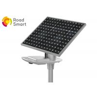 Quality 210lm/W Commercial Solar Street Lights , Solar Panel Street Lamps 1V for sale