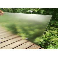 Quality Patterned Transparent Solar Panel Glass Low Visible Light Reflectivity Tempered Processing for sale