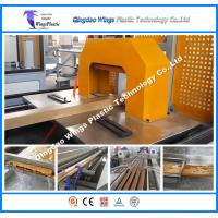 Buy cheap Wood PVC Profile Extrusion Machine for Indoor and Outdoor Decoration from wholesalers