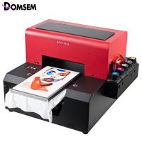 Quality Custom Digital T Shirt Printing Machine Continuous Ink Supply System for sale