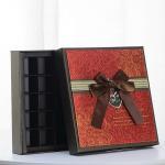 Quality Elegant Luxury Cardboard Chocolate Box for sale