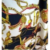 Quality Retro Chain Carriage Velvet Chiffon Fabric for sale