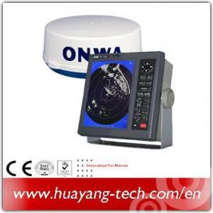 Quality 10.4 Inch Color LCD Display 36nm Marine Radar for sale