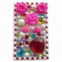 Quality Phone Sticker, Customized Designs are Welcome, with Elegant Design for sale