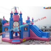 Quality Princess Waterproof Inflatable Party Bouncers With PVC For Water Park for sale