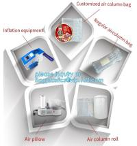 Quality cushion pillow air bag, cushion pillow dunnage air bag, air poly packing bag nylon air bubbles air pillow bag, bagplasti for sale