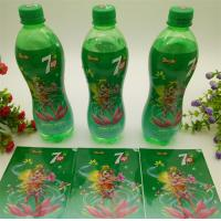 Quality Custom Shape Shrink Film Labels Vivid Gravure Printing Up To 13 Colors for sale