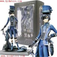Quality MOQ(USD300) 20cm cile phantomhive for Kuroshitsuji plastic figure (pc) ky1538 for sale