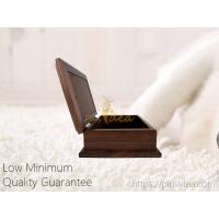 Quality Good Quality Pine Wood Walnut Color Photo Frame Pet Aftercare Tribute Keepsake Urn Chest Box, LOW Minimum Order for sale