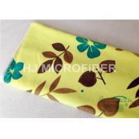 Quality Custom Printed Microfiber Cloths Towels For Face / Hand Drying , Cleaning Rags for sale