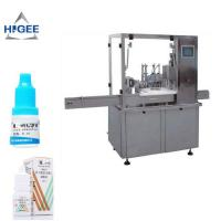 Quality Eye Drop Bottle Filling Capping Machine High Accuracy For Glass Bottle for sale