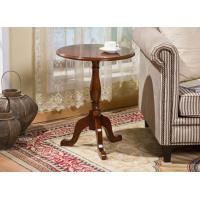 China Round Dining Room Solid Wood Table For Home Restaurant Apartment Cafe Shop Using on sale