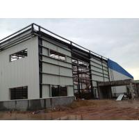 Buy Light Type Steel Structure Warehouse , Customized Prefab Metal Buildings at wholesale prices