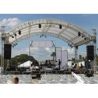 Buy cheap Concert Curved Roof Trusses Aluminum Alloy Material Two Years Warranty from wholesalers