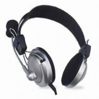 Buy Wired Computer Headset with Mic, High Stereo Sound and Mic Frequency Range From at wholesale prices