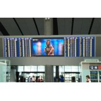 China Indoor Stadiums LED Full Color Display Panel P6mm , Full Color Led Module 1800cd / ㎡ on sale