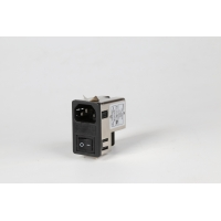 Quality general-purpose socket noise FILTER with fuse and switch for amplifier, audio equipment, subwoof for sale