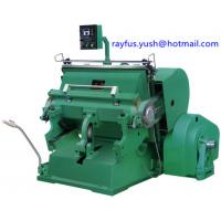 Quality Platen Die Cutting And Creasing Machine Various Sheet Material Carton Box Making for sale