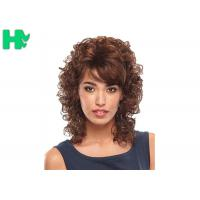Quality Pretty  Synthetic Hair Wigs / Heat Resistant 14 Inches Synthetic No Lace Hair Wig for sale