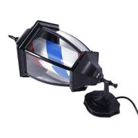 Quality Porch Light Style LED Barber Pole Acrylic Plastic Covering W/ Remote Salon Sign for sale