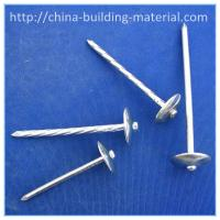Buy cheap Roofing nails,galvanized smooth shank from wholesalers
