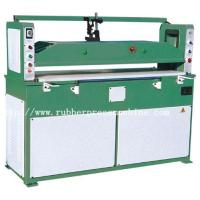China Double Connecting Bar 40 Ton Plastic Cutting Machines For Clothes / Leather Bags / Toys on sale