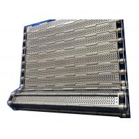 Buy cheap Customized SS 304 Chain Plate Wire Mesh Conveyor Belt For Machinery from wholesalers