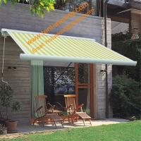 Luxury  Patio Remote Control Retractable Motorized Cassette Awning