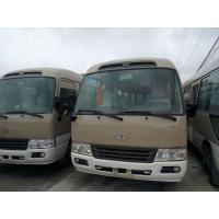 Quality 10-23 Seats Used Coaster Bus Front Engine Euro3 Emission 108 Kw Max Power for sale