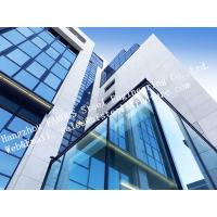 Quality Aluminum Exterior Double Glass Facade Curtain Wall Insulation Building System for sale