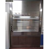 China Clean Room Stainless Steel Fume Hood L1500*W800*H2350mm Size Floor Mounted on sale