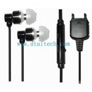 China Mobile phone earphones, Sony Ericsson K750 earphones, in-ear earphones, handsfree earphones on sale