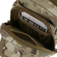 Buy Outdoor MOLLE Tactical Military Pouch Army Green Waist outdoor pouch at wholesale prices
