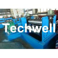 Quality 2.0 - 4.0mm Thickness Corrugated Steel Sheet Roll Forming Machine For Silo Wall Panel for sale