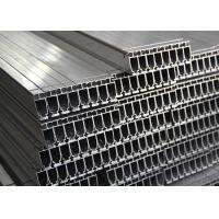 Quality Silver Industrial Standard Aluminum Extrusion Profiles Mill Finish Custom Length for sale