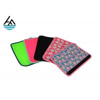 Quality Insulated Universal Neoprene Seat Belt Covers With Sublimation Printing for sale