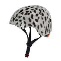 Quality Durable Youth Downhill Skateboard Helmet Out - Mold Leopard Pattern for sale