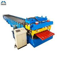 Quality Color Steel Metal Glazed Tile Tile Roll Forming Machine For Outdoor Decorate for sale