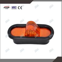 Quality oval trailer side marker light yellow trailer side light for sale