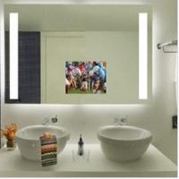 Quality LED mirror for shower room ,hotel bedroom LED mirror for sale